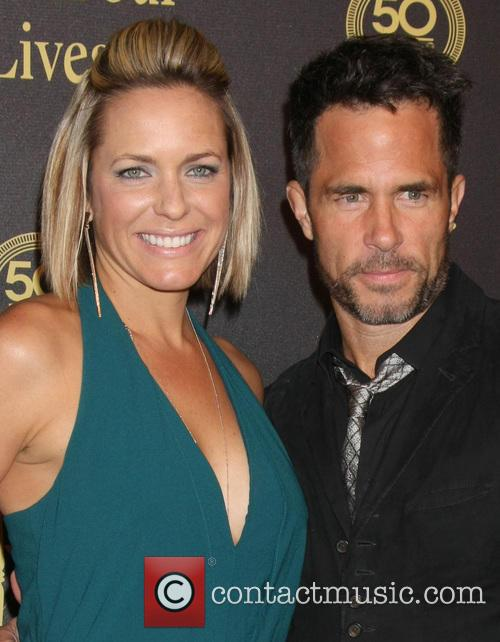 Arianne Zucker and Shawn Christian