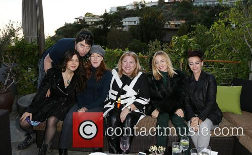 Kathleen York, Lucy Webb, Mena Suvari and Guests 4