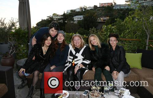 Kathleen York, Lucy Webb, Mena Suvari and Guests 5
