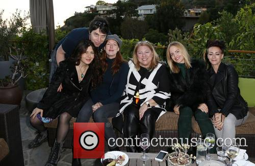 Kathleen York, Lucy Webb, Mena Suvari and Guests 6