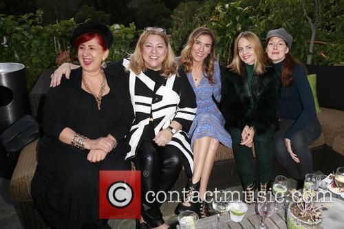 Lucy Webb, Amy J. Berg, Mena Suvari and Kathleen York 6
