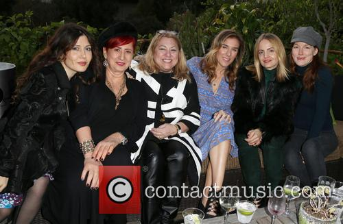 Lucy Webb, Amy J. Berg, Mena Suvari and Guests 9