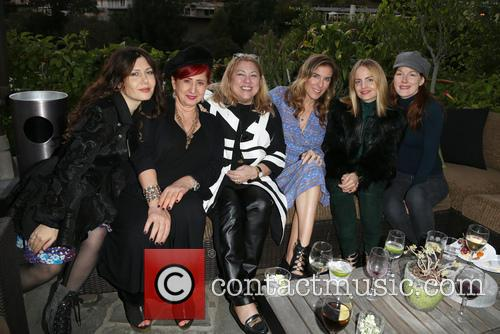 Lucy Webb, Amy J. Berg, Mena Suvari and Guests 11