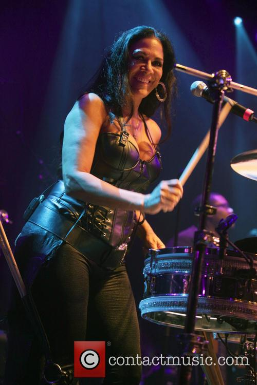 Sheila E performing live in concert