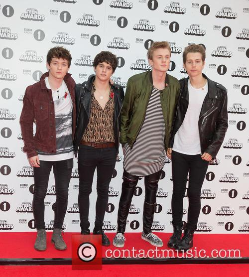 Tristan Evans, Bradley Simpson, James Mcvey, Connor Ball and The Vamps 1