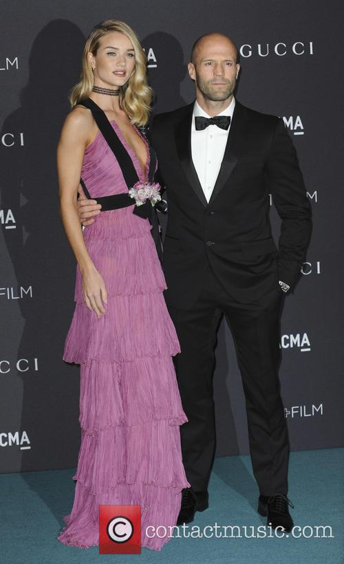 Rosie Huntington Whiteley and Jason Statham 2
