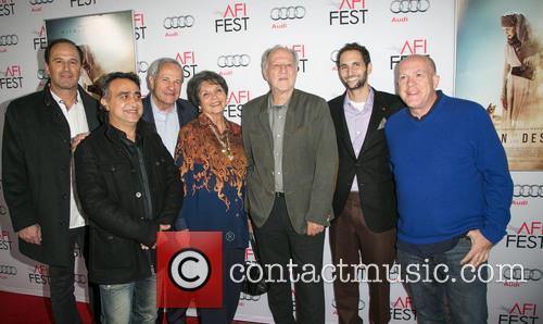 Harmon Kaslow, Nick Raslan, John Aglialoro, Joan Carter, Werner Herzog, Michael Benaroya and Cassian Elwes 1
