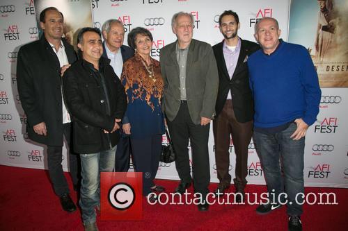 Harmon Kaslow, Nick Raslan, John Aglialoro, Joan Carter, Werner Herzog, Michael Benaroya and Cassian Elwes 2