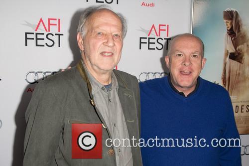 Werner Herzog and Cassian Elwes