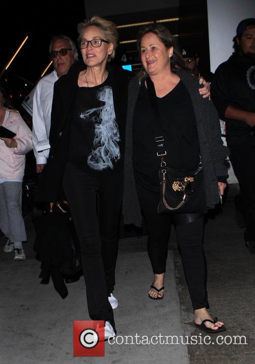Sharon Stone and Kelly Stone 5
