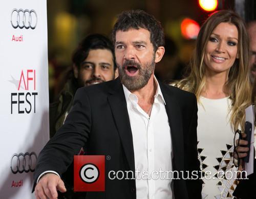 Antonio Banderas and Nicole Kimpel 1