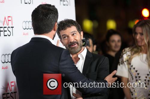 Juan Pablo Raba, Antonio Banderas and Nicole Kimpel 1