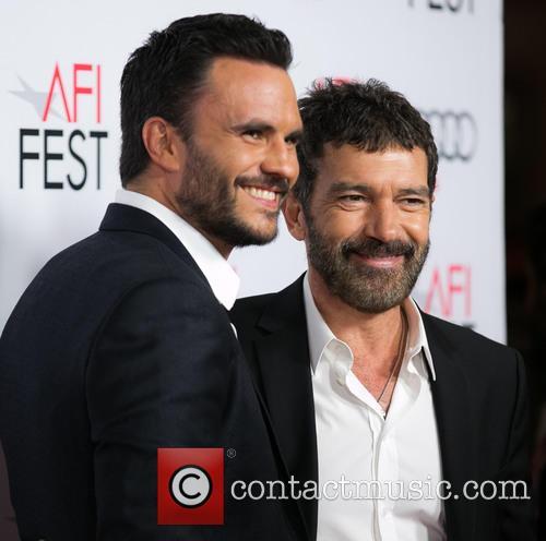 Juan Pablo Raba and Antonio Banderas 2