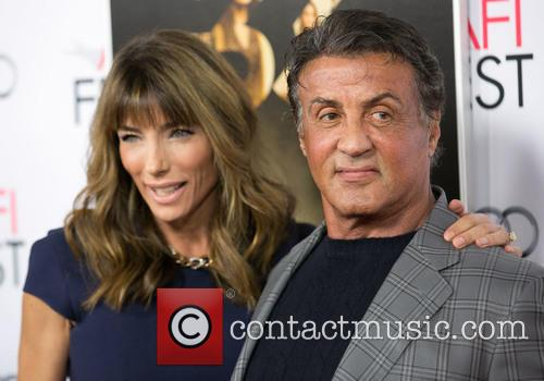Jennifer Flavin Stallone and Sylvester Stallone 1