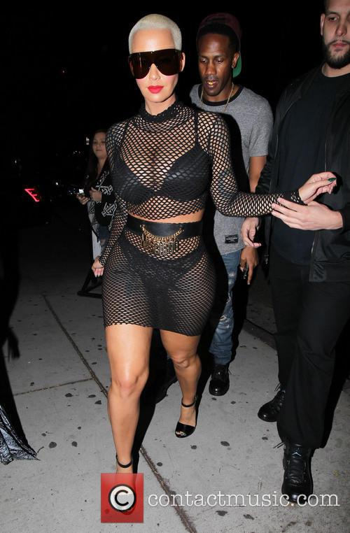 Amber Rose arrives at Ace of Diamonds