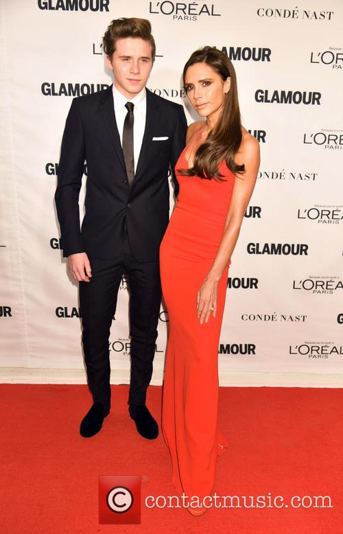 Brooklyn Beckham and Victoria Beckham 1