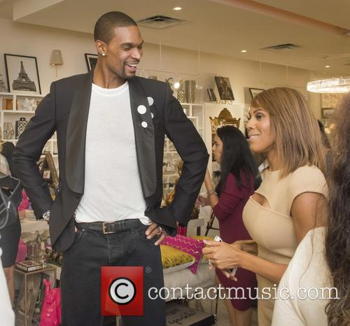 Chris Bosh and Deborah Cox 2