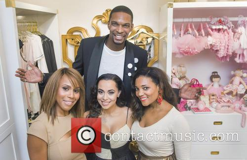 Deborah, Cox, Adrienne Bosh, Amaris Jonesa and Chris Bosh 1