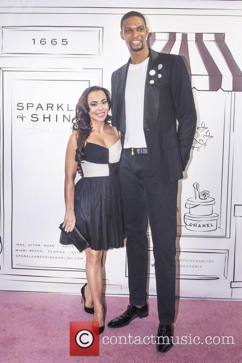 Adrienne Bosh and Chris Bosh 2