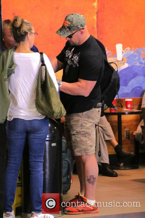 'Stone Cold' Steve Austin at LAX