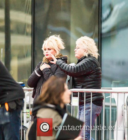 'Absolutely Fabulous the Movie' filming in London
