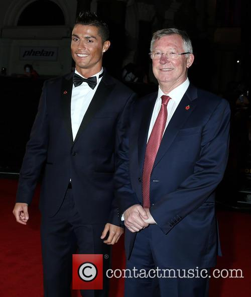 Christiano Ronaldo and Sir Alex Ferguson 6