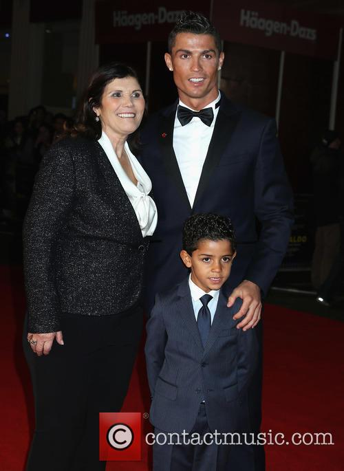 Maria Dolores Aveiro and Christiano Ronaldo 1
