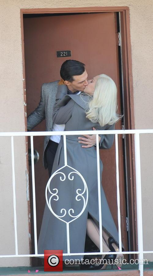 Lady Gaga and Finn Wittrock 2