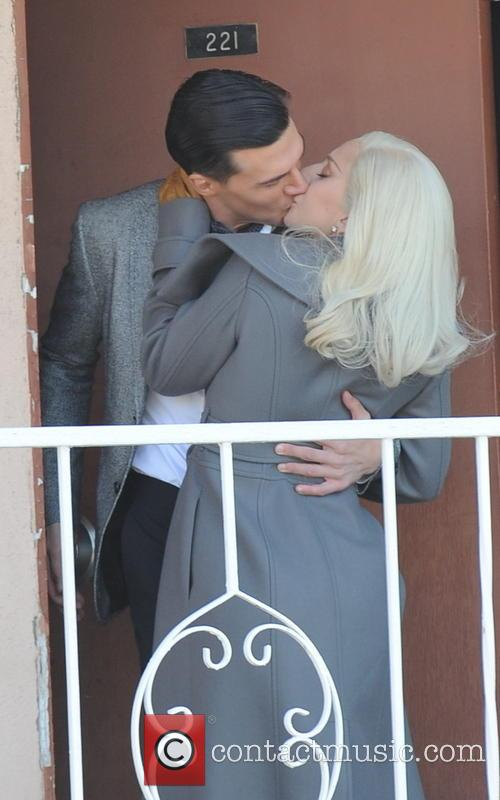 Lady Gaga and Finn Wittrock 4