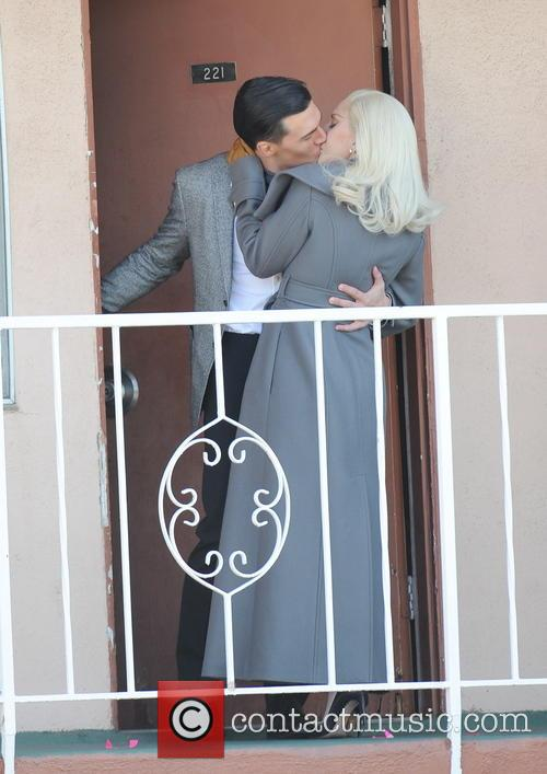 Lady Gaga and Finn Wittrock 6