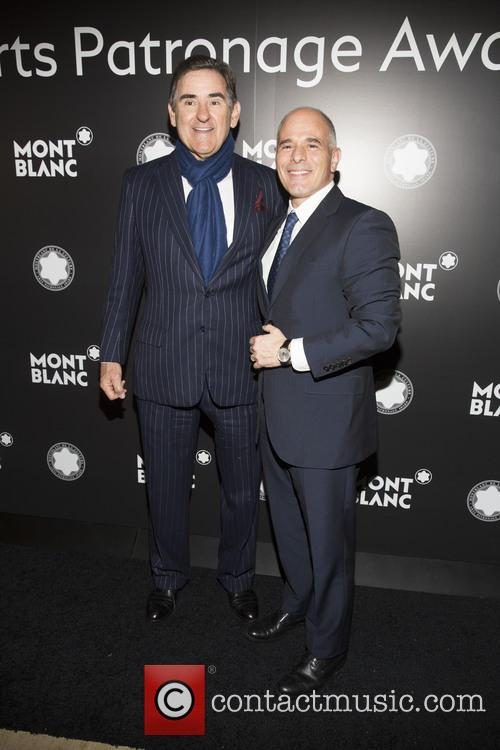 Peter M. Brant and Mike Giannattasio 1