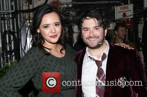 Rebecca Brown and Alex Brightman 1