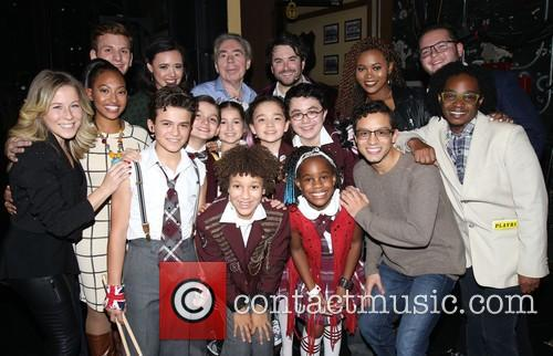 Andrew Lloyd Webber, Alex Brightman and Cast 2