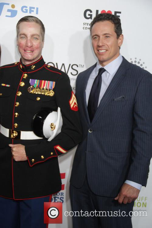 Arron Mankin Us Marine and Chris Cuomo 1