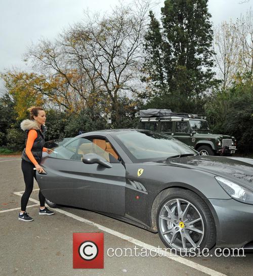 TV presenter Kim Frickleton visits Hyde Park to...
