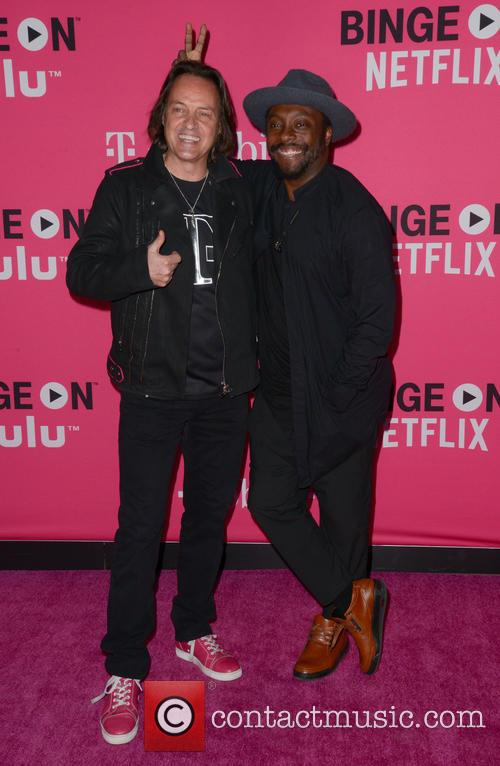 John Legere and Will.i.am 2