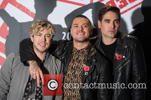 James Bourne, Matt Willis and Charlie Simpson 1