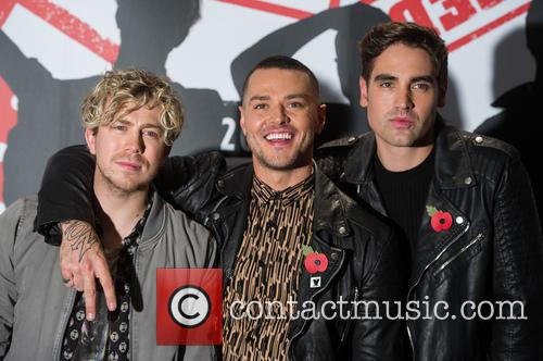 James Bourne, Matt Willis and Charlie Simpson 3