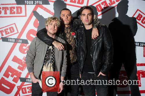 James Bourne, Matt Willis and Charlie Simpson 4
