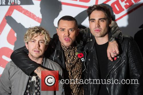 James Bourne, Matt Willis and Charlie Simpson 6