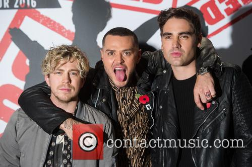 James Bourne, Matt Willis and Charlie Simpson 7