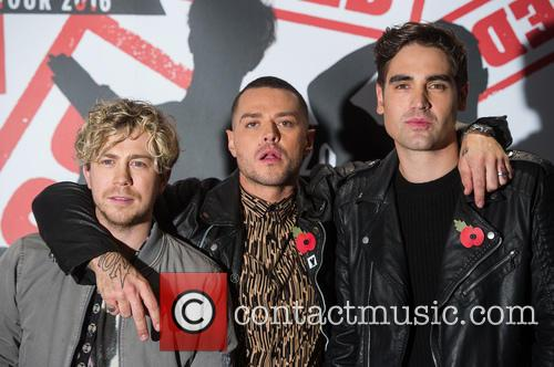 James Bourne, Matt Willis and Charlie Simpson 8