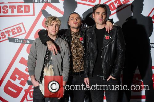 James Bourne, Matt Willis and Charlie Simpson 9