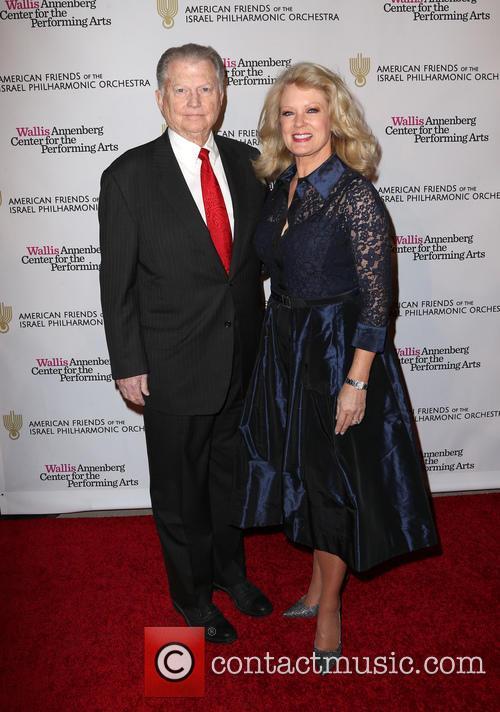 Mary Hart and Burt Sugarman 1