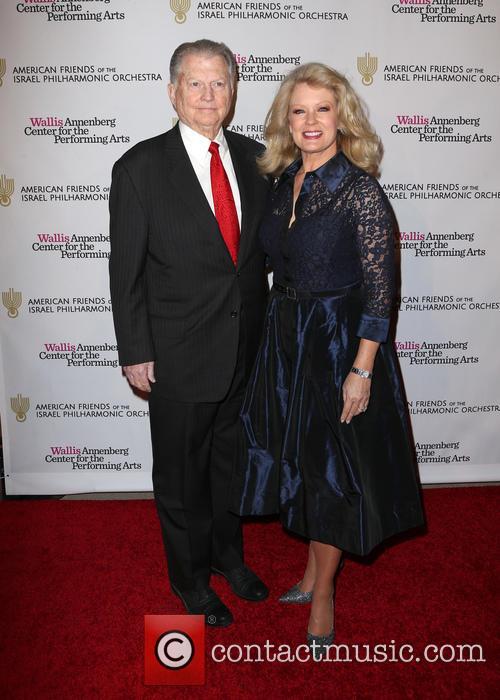 Mary Hart and Burt Sugarman 2