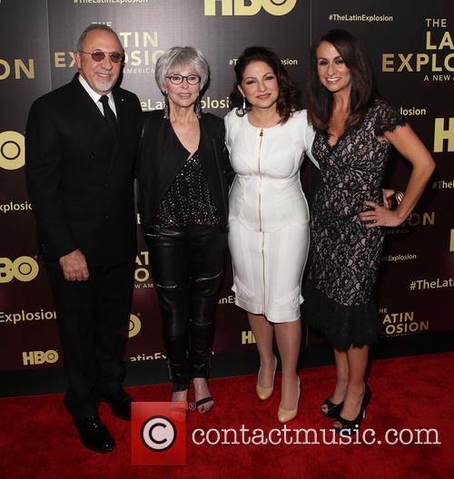 Emilio Estefan, Rita Moreno, Gloria Estefan and Audrey Puente 3