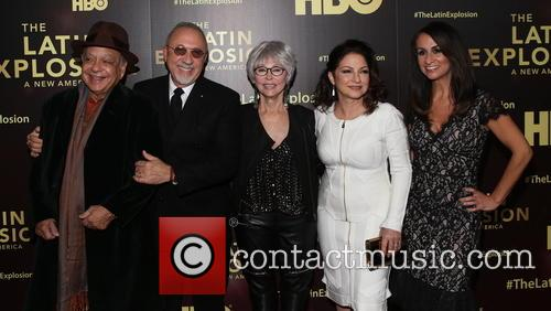 Cheech Marin, Emilio Estefan, Rita Moreno, Gloria Estefan and Audre Puente 2
