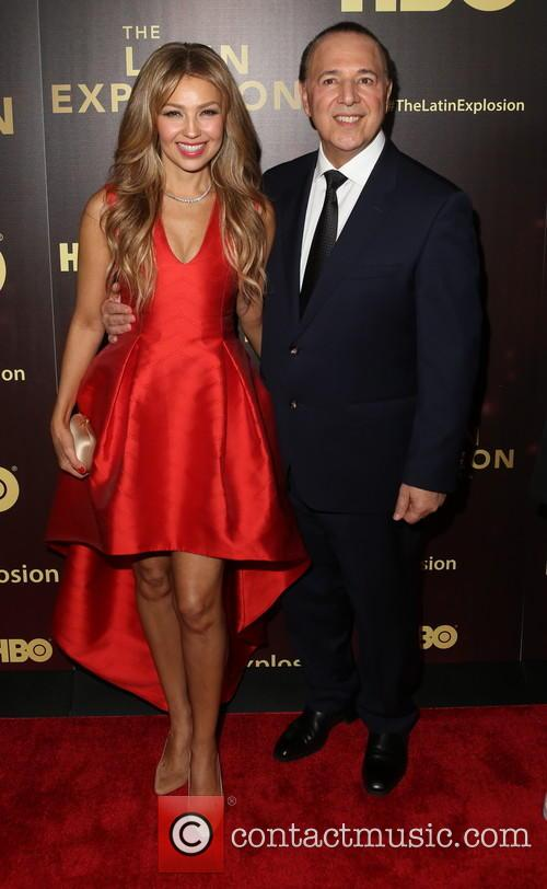 ThalÍa and Tommy Mottola 1