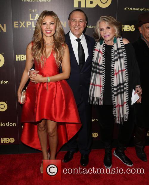 ThalÍa, Tommy Mottola and Sheila Nevins 2