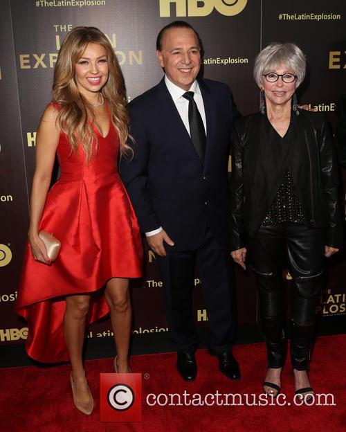 ThalÍa, Tommy Mottola and Sheila Nevins 4